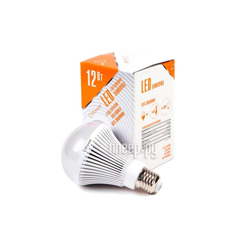 Лампочка iPower 12W 2700K 960LM E27 IPHB12W2700KE27 1001954