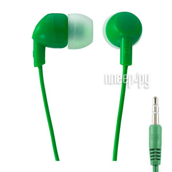 Наушники Perfeo Ipod Green PF-IPD-GRN