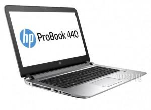 Купить Ноутбук HP ProBook 440 G3 W4N86EA (Intel Core i3-6100U 2.3 GHz/4096Mb/128Gb SSD/No ODD/Intel HD Graphics/Wi-Fi/Bluetooth/Cam/14.0/1920x1080/Windows 7 64-bit)