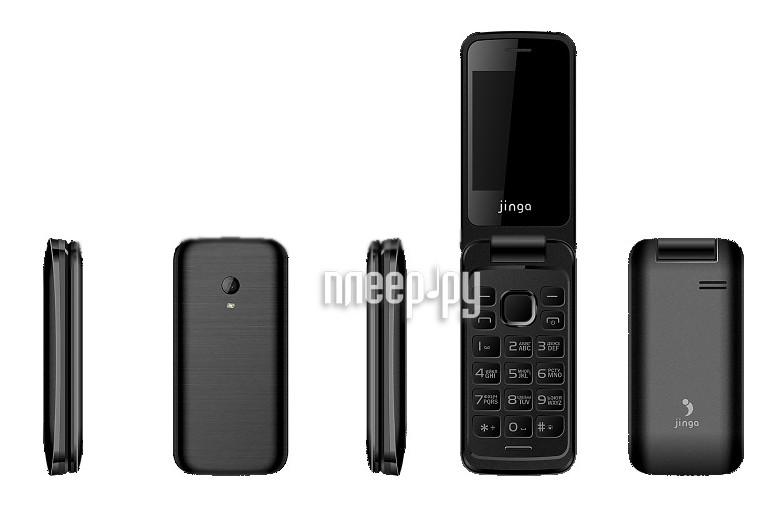 Сотовый телефон Jinga Simple F510 Black