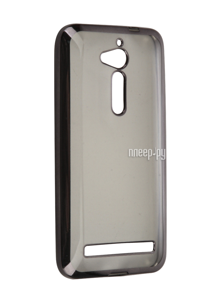 Аксессуар Чехол ASUS ZenFone Go ZB500KG SkinBox Silicone Chrome Border 4People