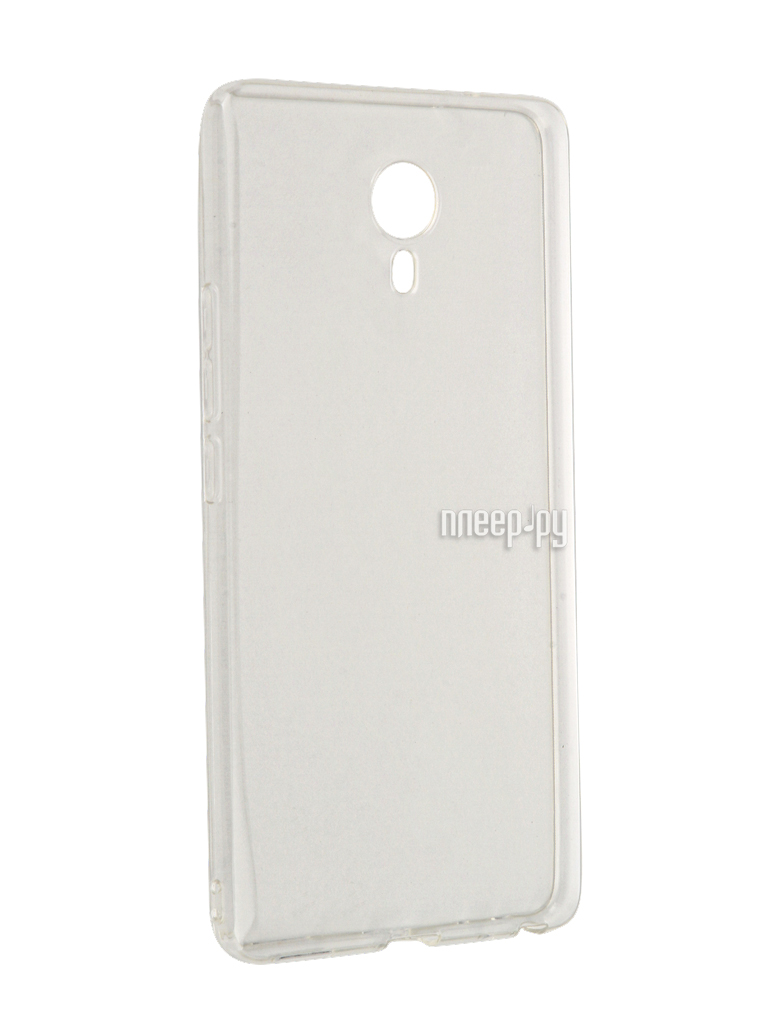 Аксессуар Чехол Meizu M3 Max SkinBox Slim Silicone Transparent T-S-MM3Max-006