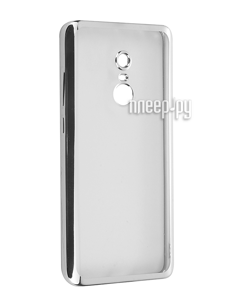 Аксессуар Чехол Xiaomi Redmi Note 4 SkinBox Silicone Chrome Border 4People