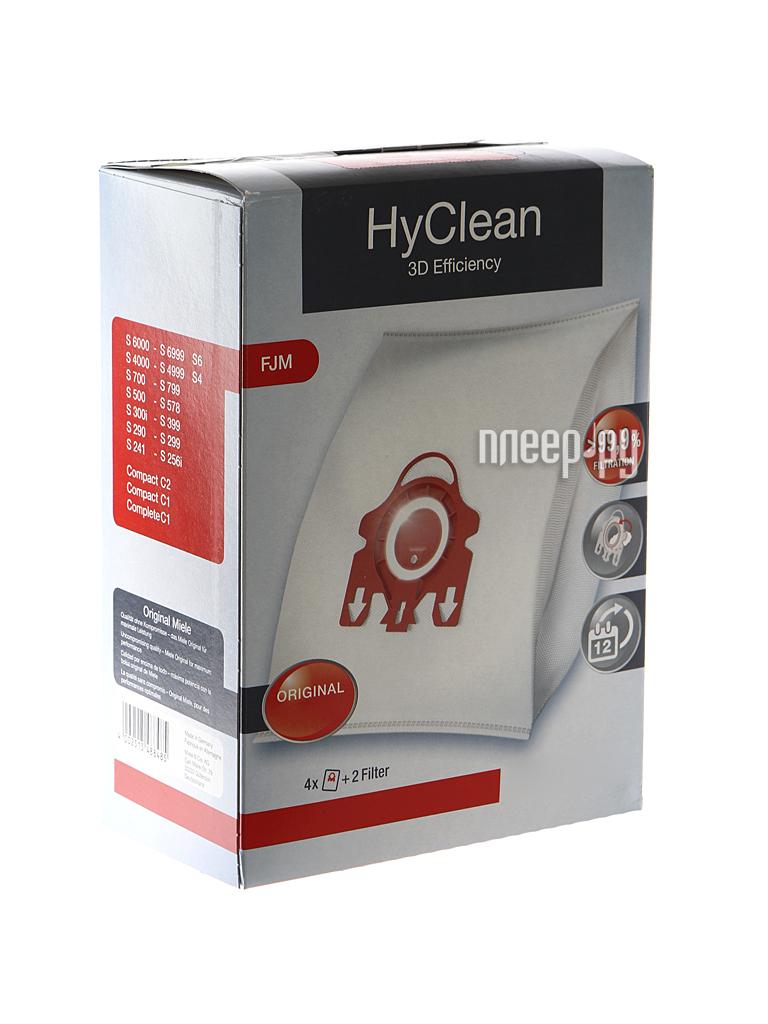 Аксессуар Miele HyClean 3D Efficiency мешки для пылесоса Miele FJM Red