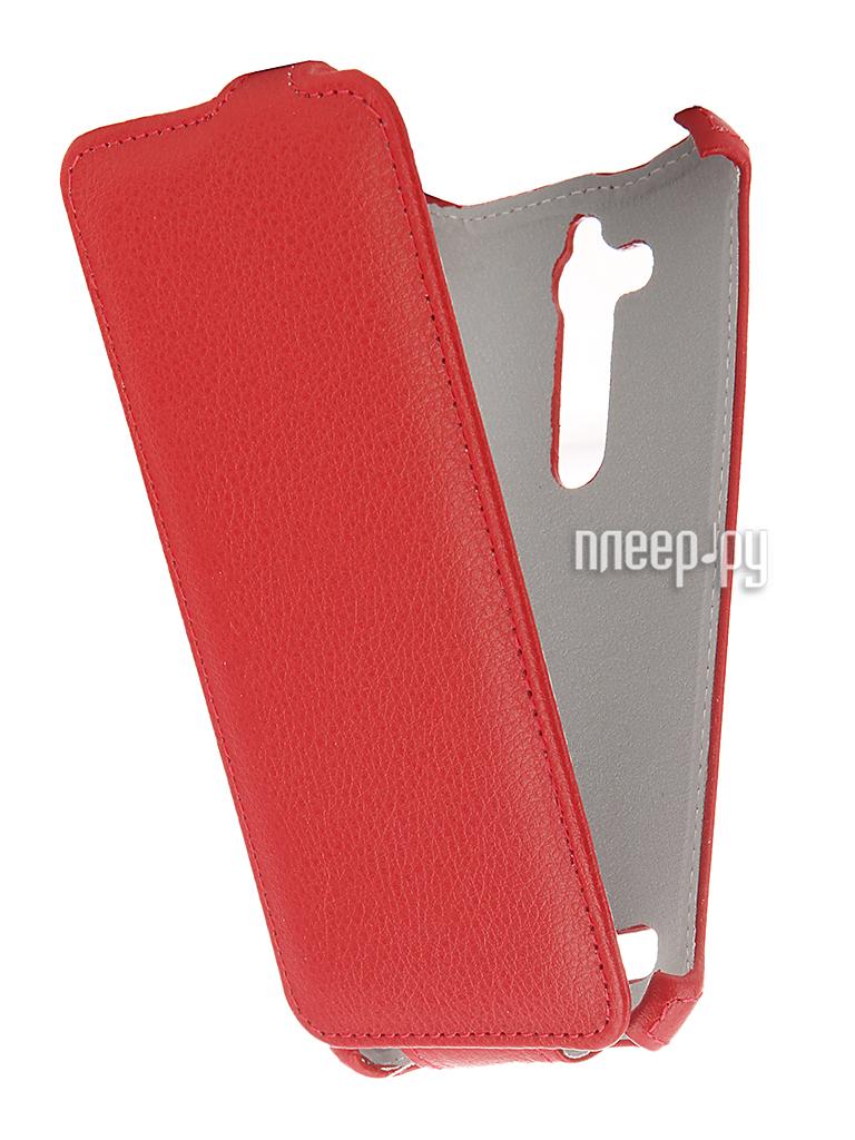 Аксессуар Чехол ASUS ZenFone Go ZB500KG Zibelino Classico Red ZCL-ASU-ZB500KG-RED