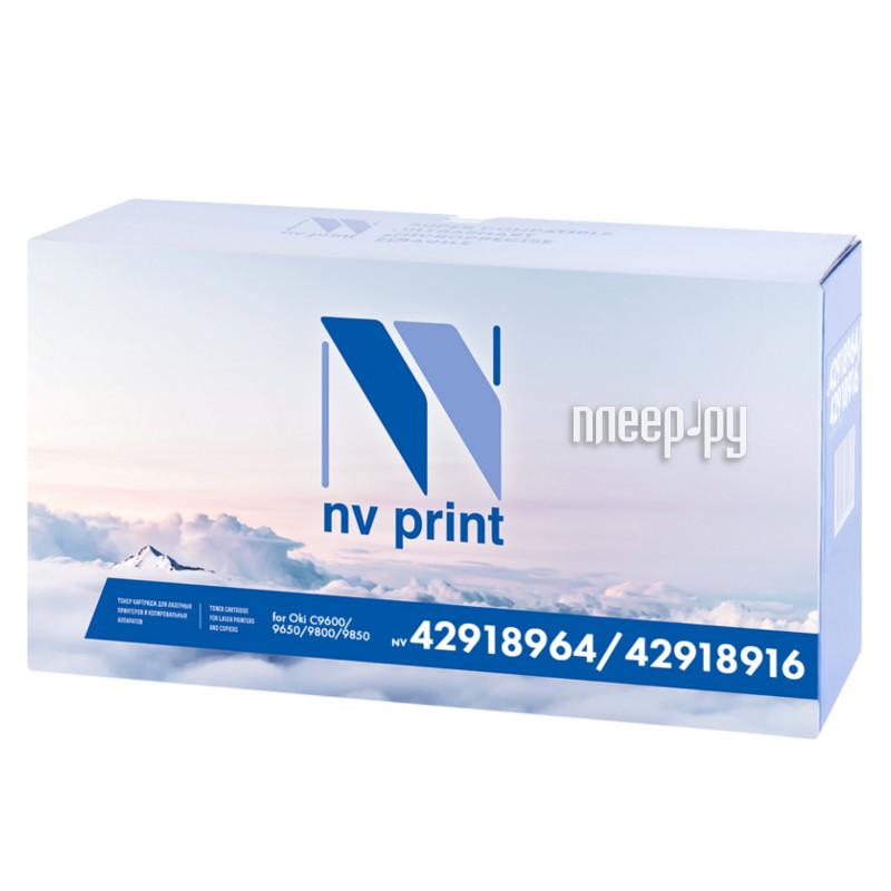 Картридж NV Print 42918964 / 42918916 Black для Oki C9600 / 9650 / 9800 / 9850 15000k