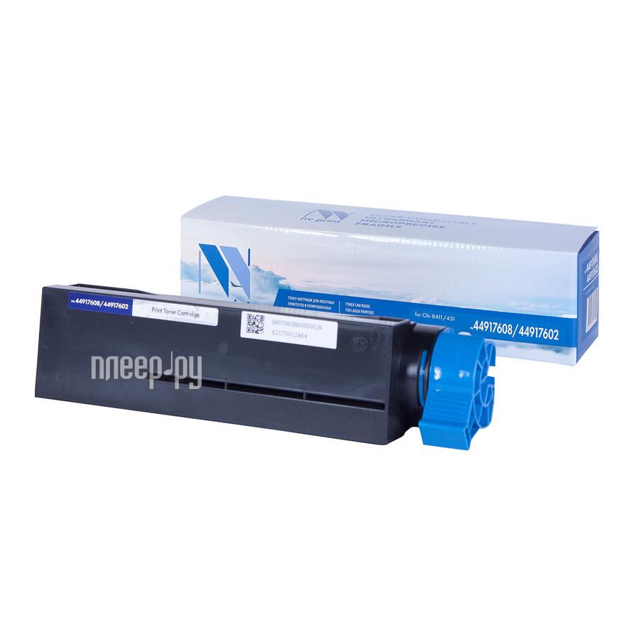 Картридж NV Print 44917608 / 44917602 для Oki B431 / MB491 12000k купить