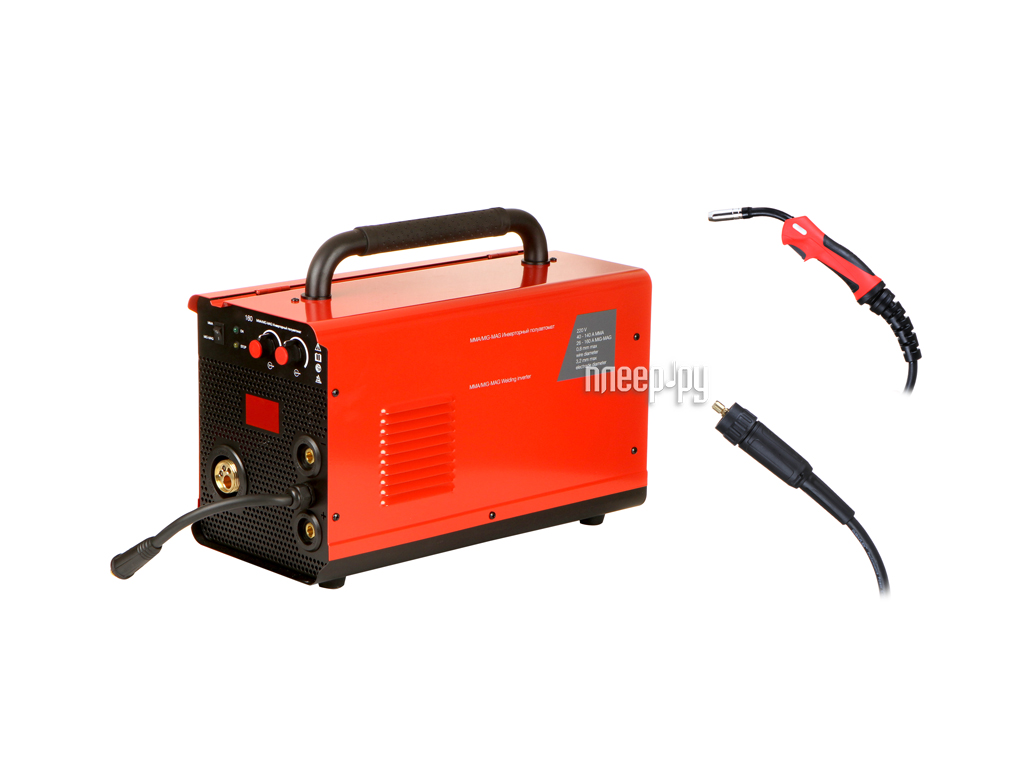 Сварочный аппарат Fubag IRMIG 160 FUBAG IRMIG 160 с горелкой FB 150 3m 68 068