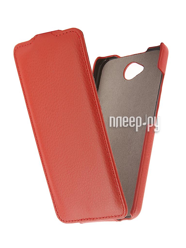 Аксессуар Чехол Microsoft Lumia 650 Cojess UpCase Red