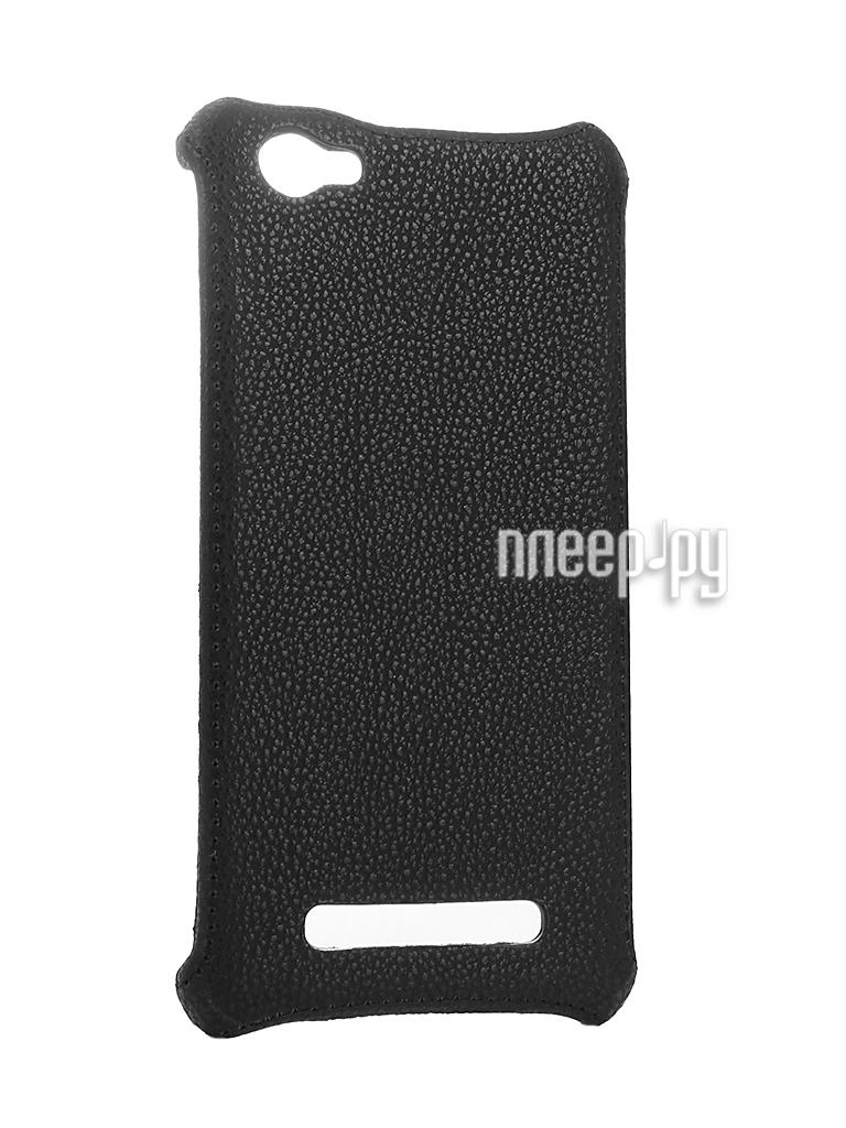 Аксессуар Чехол-накладка Philips S326 Zibelino Cover Back Black ZCB-PHL-S326-BLK