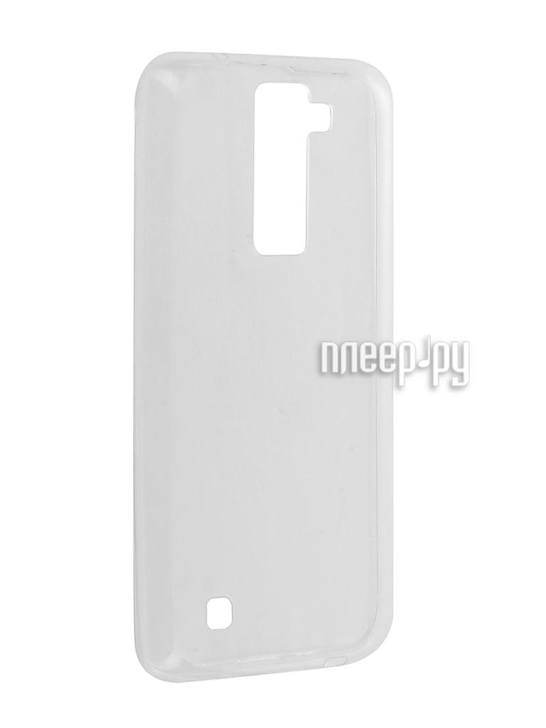 Аксессуар Чехол LG K8 / K350E Cojess Silicone TPU 0.3mm / 0.5mm Transparent глянцевый