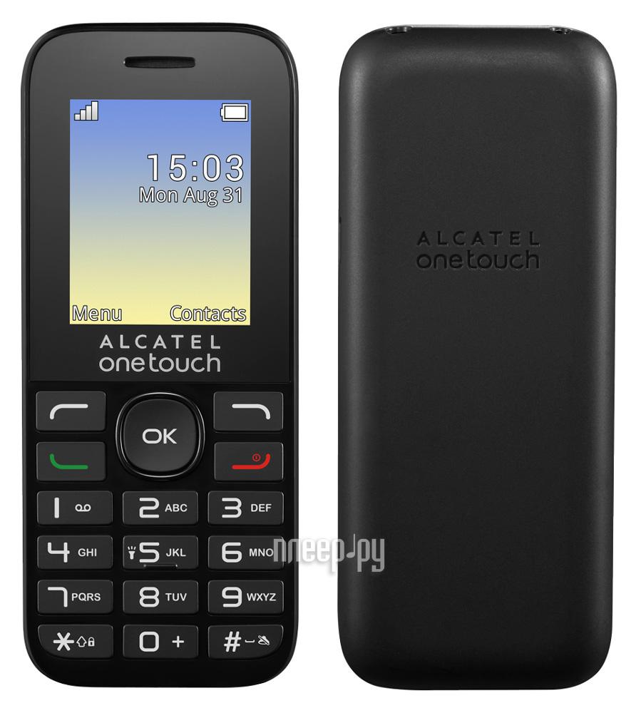 Сотовый телефон Alcatel OneTouch 1020D Volcano Black