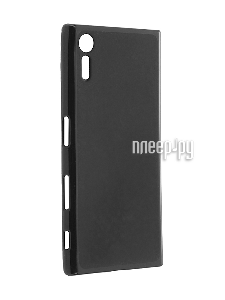 Аксессуар Чехол Sony Xperia XZ Cojess Silicone TPU X 0.8mm Black Mate