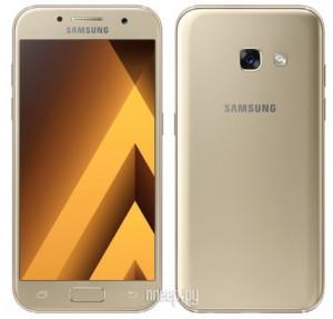 Купить Сотовый телефон Samsung SM-A320F Galaxy A3 (2017) Gold