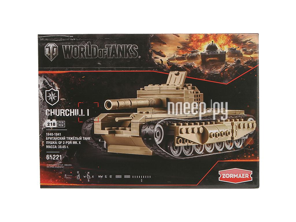 Конструктор ZORMAER World of Tanks 65302