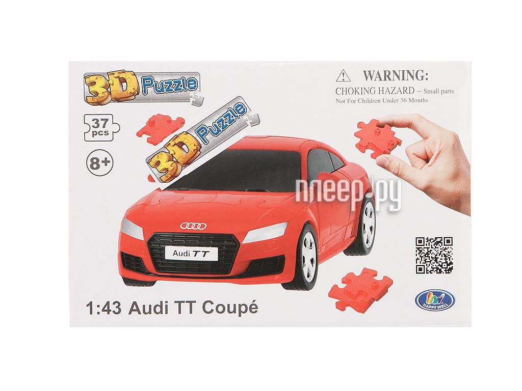 3D-пазл Happy Well Audi TT Coupe 3D Puzzle Non Assemble 57122