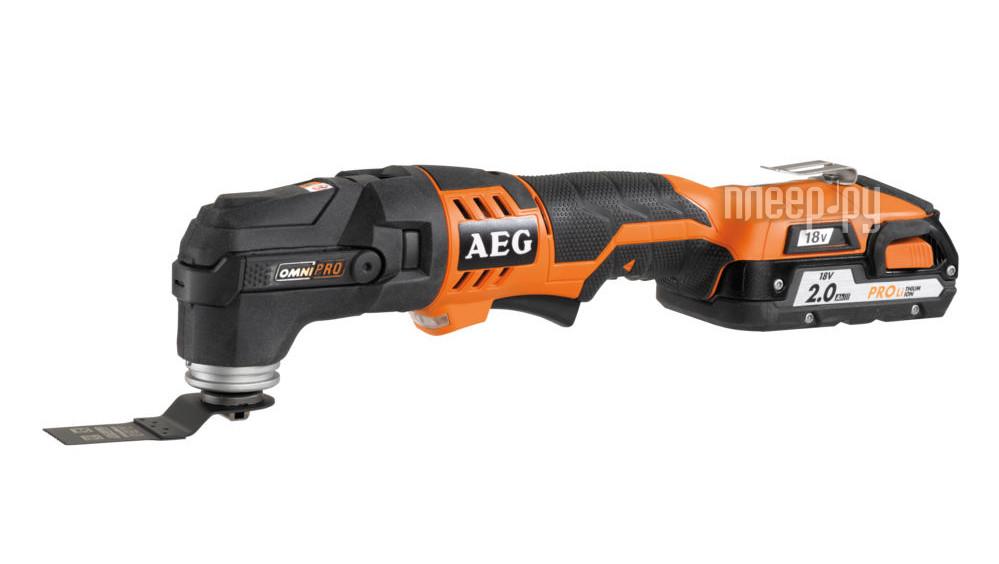 Шлифовальная машина AEG OMNI 18C-0 KIT1X 446706