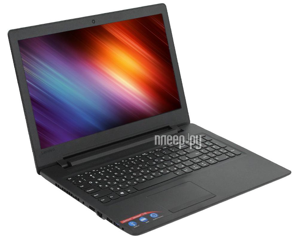 Ноутбук Lenovo 110-15ACL 80TJ002VRK (AMD E1-7010 1.5 GHz / 4096Mb / 500Gb / DVD-RW / AMD Radeon R2 / Wi-Fi / Bluetooth / Cam / 15.6 / 1366x768 / DOS)