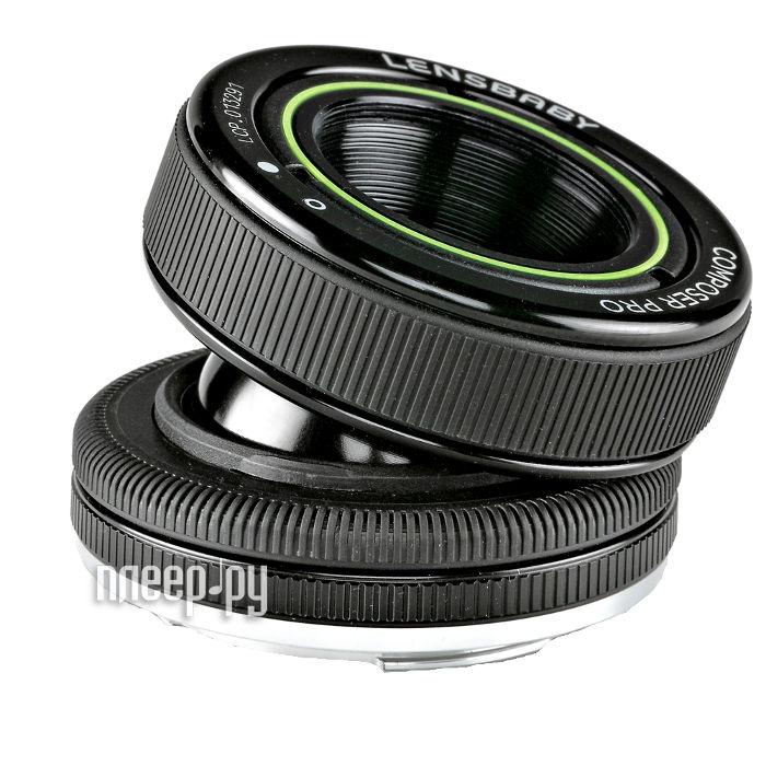 Объектив Lensbaby Composer Pro Double Glass for Canon LBCPDGC  Pleer.ru  10199.000