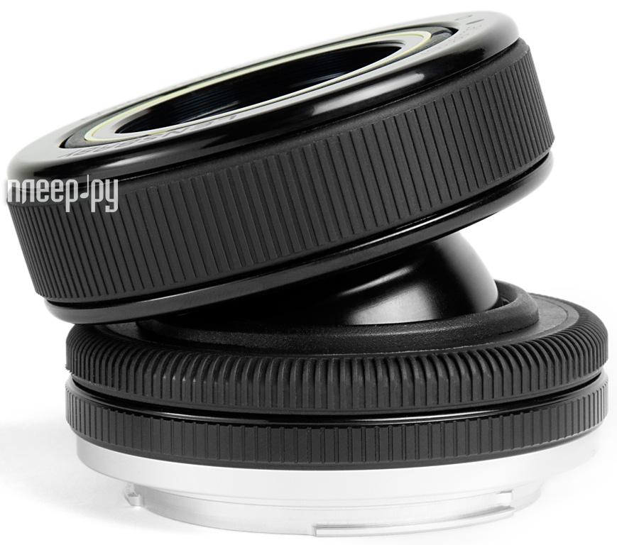 Объектив Lensbaby Composer Pro Double Glass for Olympus 4/3 LBCPDGO  Pleer.ru  9498.000