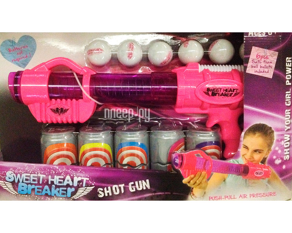 Бластер Toy Target Sweet Heart Breaker 22019