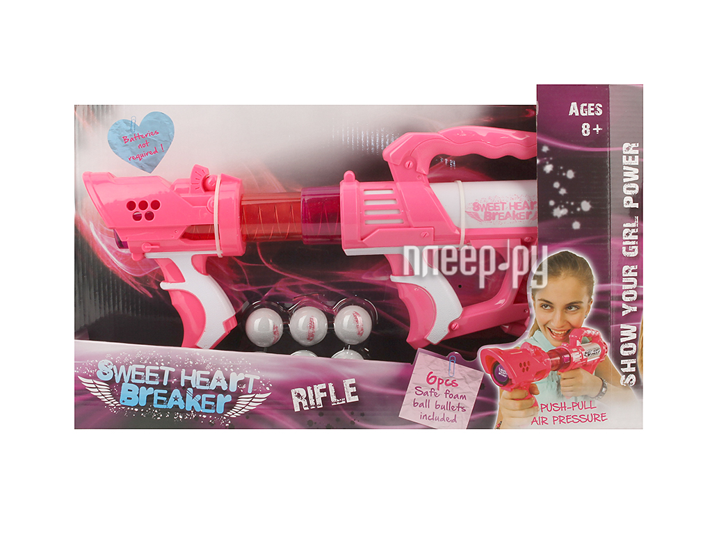 Бластер Toy Target Sweet Heart Breaker 22022