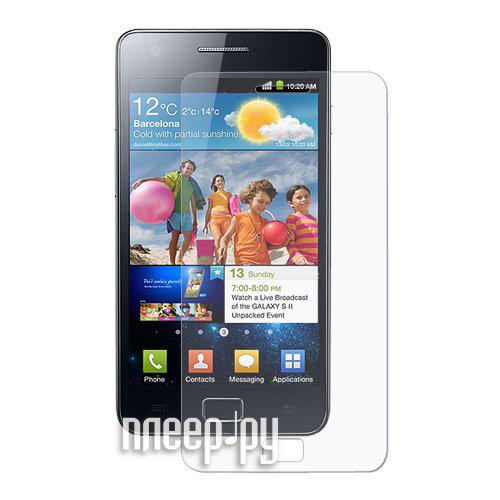 Аксессуар Защитная пленка Samsung GT-i9105 Galaxy S II Plus / GT-i9100 Galaxy S II EcoStyle / Red Line / Media Gadget Premium / MStyle / Ainy / Palmexx PX/SPM i9100 матовая  Pleer.ru  537.000