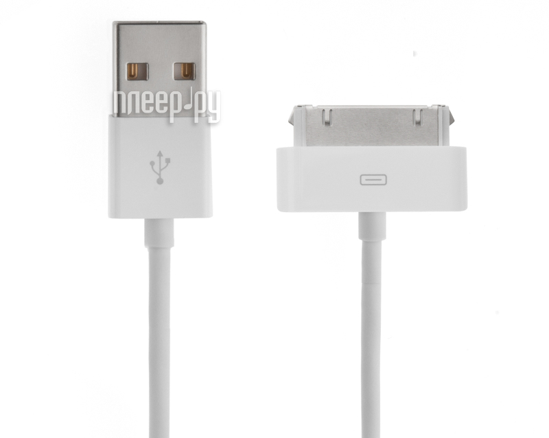 Аксессуар Rexant USB для iPhone 4 / 4S 1m White 18-1123 за 347 рублей