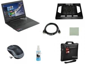 Купить Ноутбук Lenovo IdeaPad 110-15ACL 80TJ00D7RK Выгодный набор + подарок серт. 200Р!! (AMD E1-7010 1.5 GHz/4096Mb/500Gb/No ODD/Integrated UMA/Wi-Fi/Bluetooth/Cam/15.6/1366x768/Windows 10)