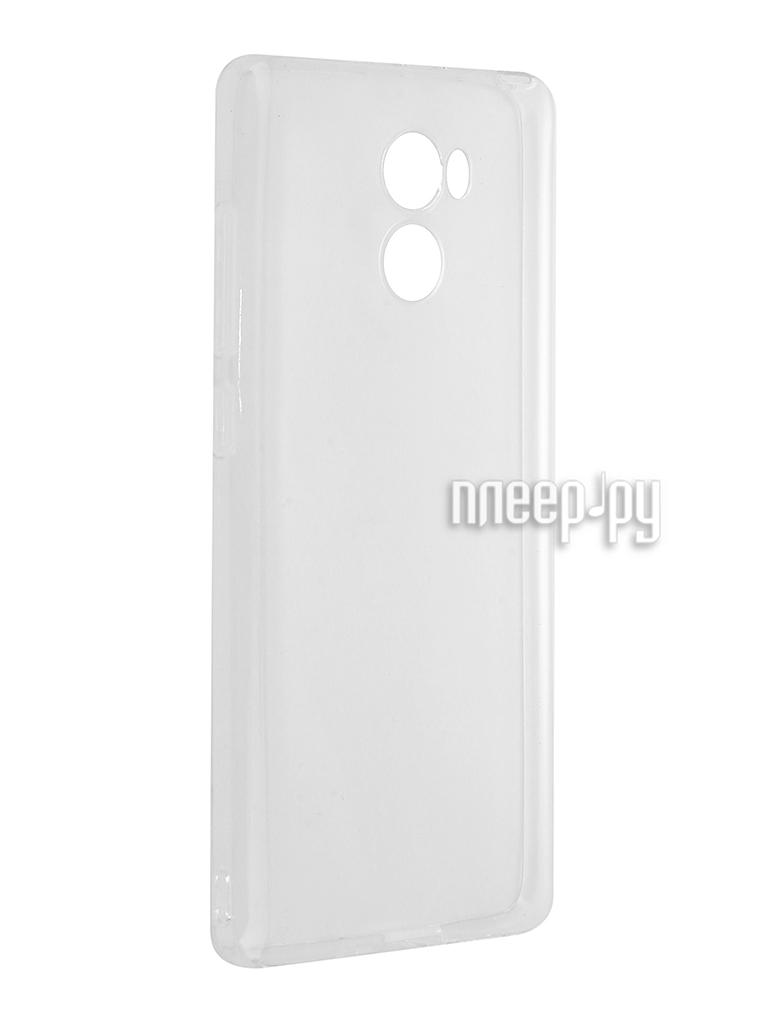 Аксессуар Чехол Xiaomi Redmi 4 Svekla Silicone Transparent SV-XIRED4WH