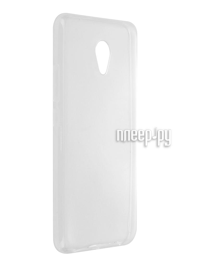 Аксессуар Чехол Meizu M5 Svekla Silicone Transparent SV-MZM5-WH
