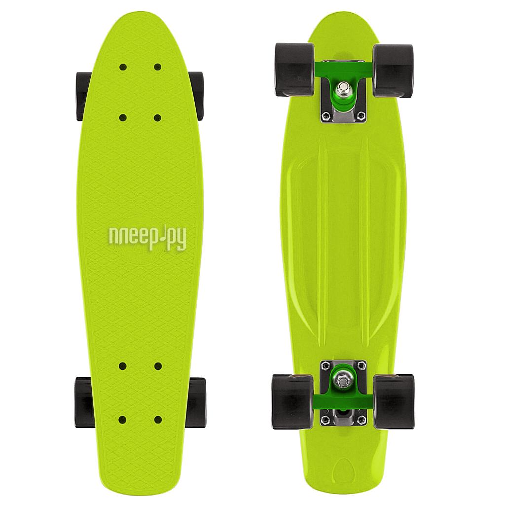 Скейт Y-SCOO Fishskateboard 22 Lime-Black 401-L