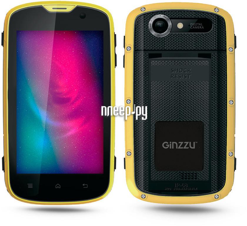 Сотовый телефон Ginzzu RS71D Black-Orange