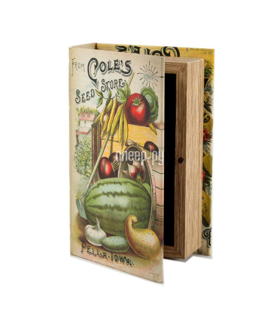 Шкатулка Русские подарки Кладовая садовода 17x11x5cm 184297