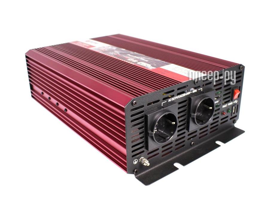 Автоинвертор AcmePower AP-PS-2000/24 (2000Вт) с 24В на 220В