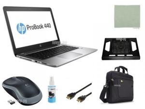 Купить Ноутбук HP Probook 440 G4 Y7Z85EA Выгодный набор + подарок серт. 200Р!! (Intel Core i5-7200U 2.5 GHz/4096Mb/500Gb/No ODD/Intel HD Graphics/Wi-Fi/Bluetooth/Cam/14.0/1366x768/DOS)