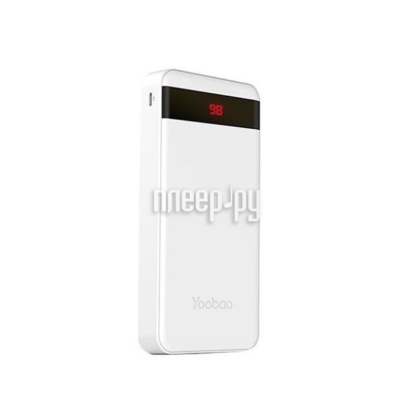 Аккумулятор Yoobao Power Bank M20 Pro 20000mAh White