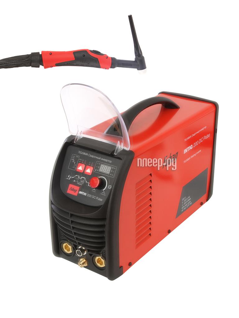 Сварочный аппарат Fubag INTIG 200 DC PULSE
