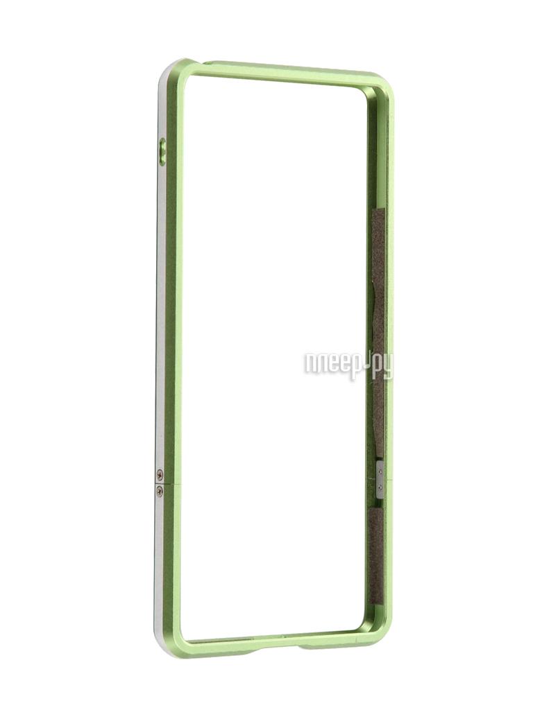 Аксессуар Чехол Sony Xperia XA BROSCO Green XA-BMP-GREEN