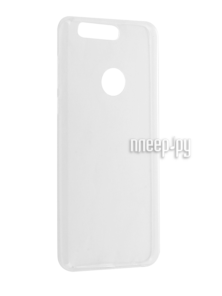 Аксессуар Чехол Huawei Honor 8 BROSCO Silicone 4side Transparent HW-H8-TPU-TRANSPARENT