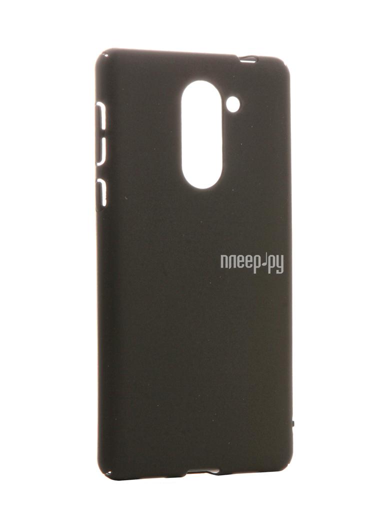 Аксессуар Чехол Huawei Honor 6X BROSCO SoftTouch 4side Black HW-H6X-4SIDE-ST-BLACK