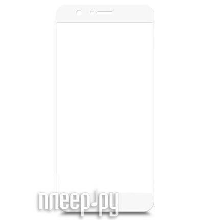Аксессуар Защитное стекло Huawei Honor 8 BROSCO Full Screen White HW-H8-GLASS-WHITE