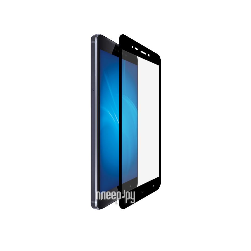 Аксессуар Защитное стекло Huawei P9 BROSCO Full Screen Black HW-P9-3D-GLASS-BLACK