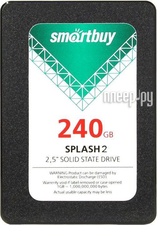 Жесткий диск 240Gb - SmartBuy SB240GB-SPLH2-25SAT3
