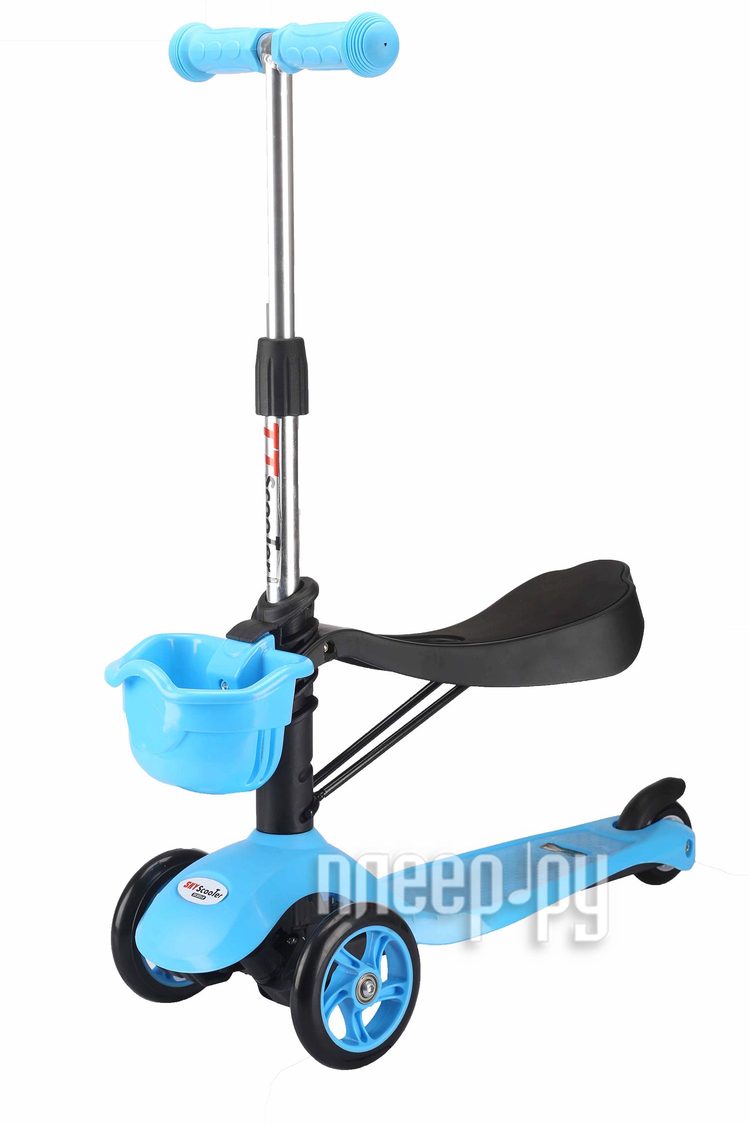 Самокат Tech Team Sky Scooter Blue