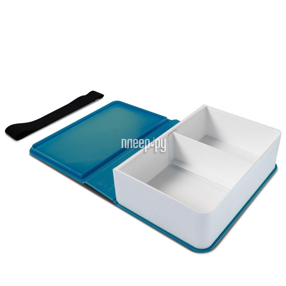 Ланч-бокс Black+Blum Box Book Turquoise BK-LB005