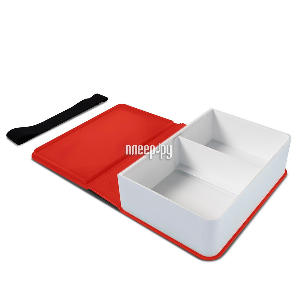 Ланч-бокс Black+Blum Box Book Red BK-LB004