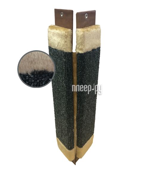 Когтеточка Неженка Ковровая угловая с мехом 61x24cm 6860 купить