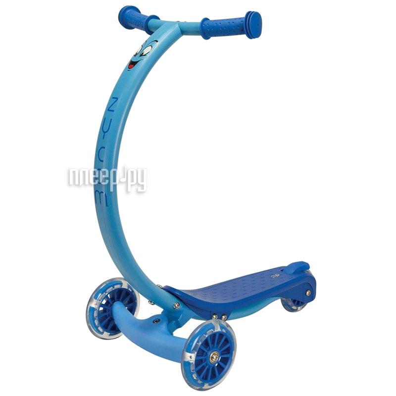 Самокат Zycom Zipster Blue со светящимися колесами за 2706 рублей