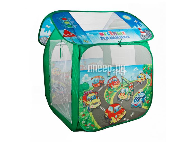 Игрушка для активного отдыха Палатка Играем вместе Веселые машинки GFA-AUTO-R